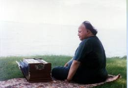 Nusrat fateh Ali Khan (Photo: A.M. Samadani)